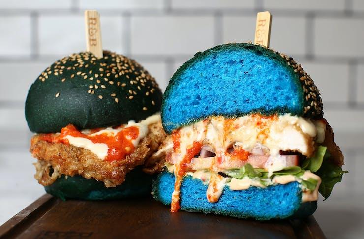 ribs & burgers