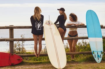 Work Up A Salty Sweat In The Newest Sustainable Swimwear Collab Made For The Surf