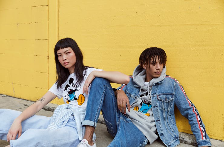 Channel True 90s Vibes With The New Mickey Meets Levi's Collab