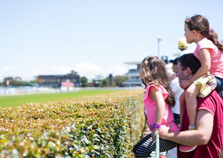 relaxed racing family day