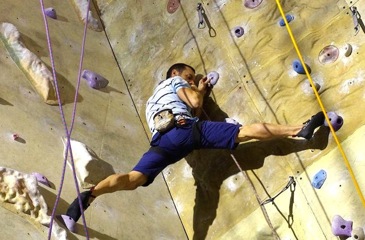 melbourne's best indoor rock climbing