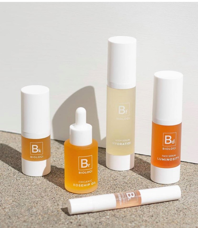 a selection of biologi serums