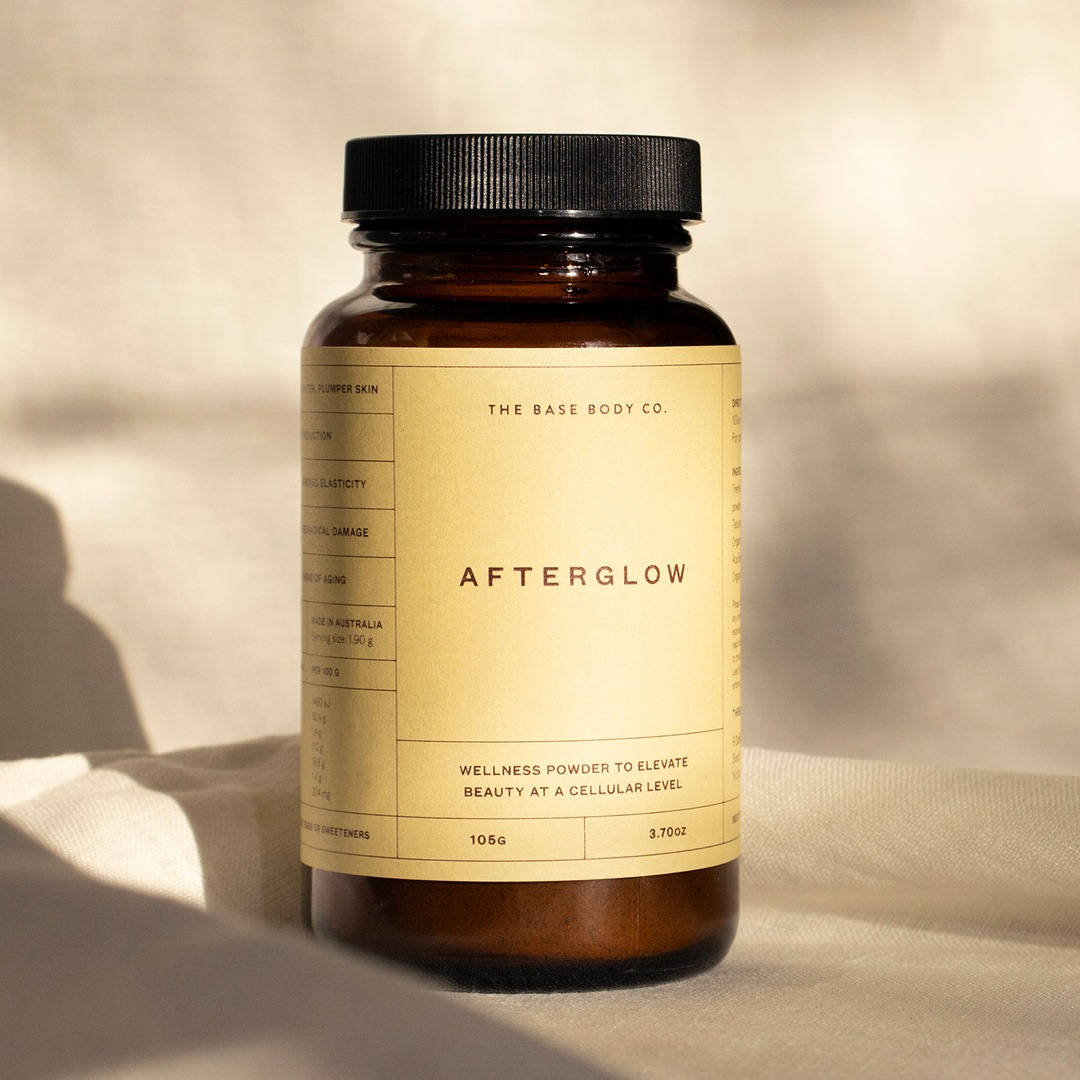 a bottle of afterglow