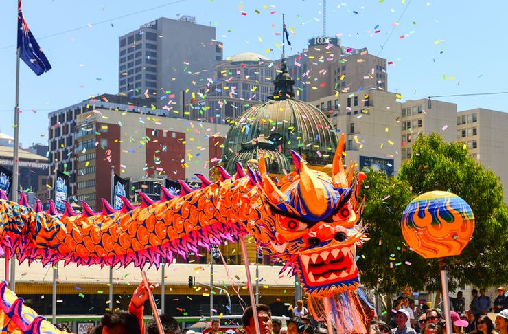 chinese new year melbourne