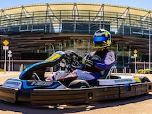 Race Your Mates Around Stadium Park In These Go Karts Developed By F1 Driver Daniel Ricciardo