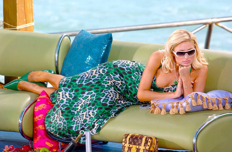Paris-Hilton bored