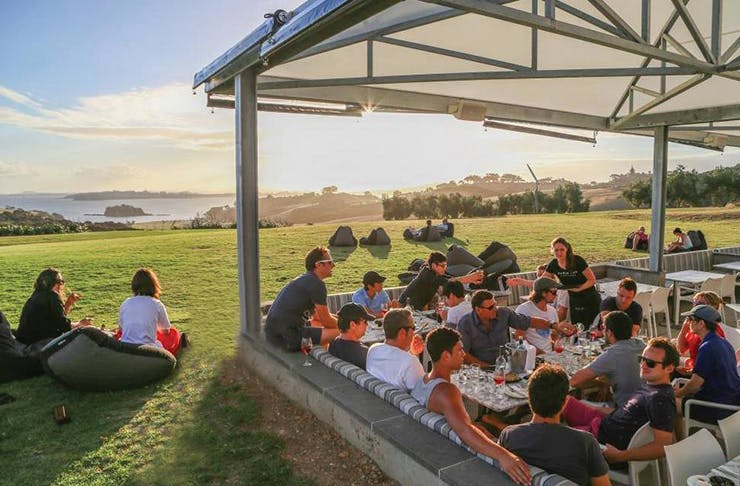 50 Places To Eat Outdoors In Auckland