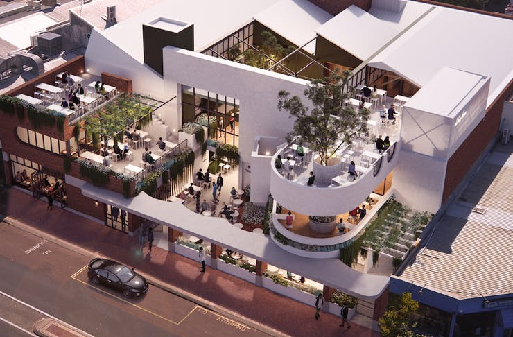 a render of the upcoming Mount Lawley development
