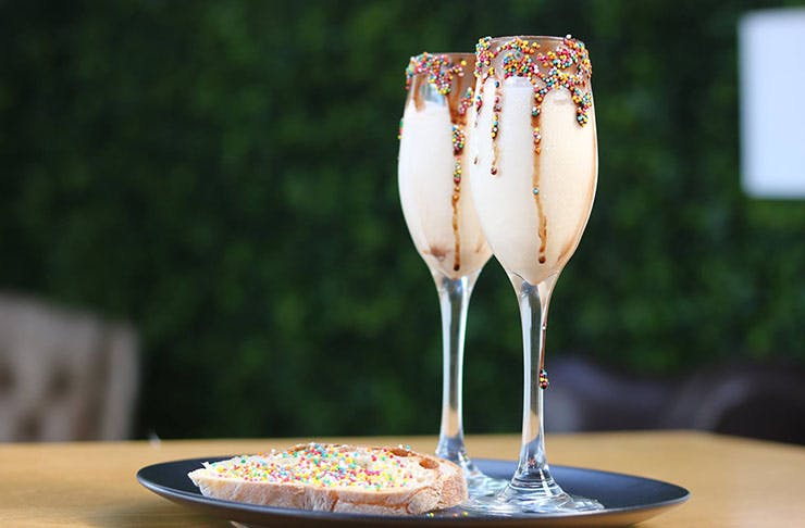 Fairy Bread Cocktails Are Here For One Night Only!