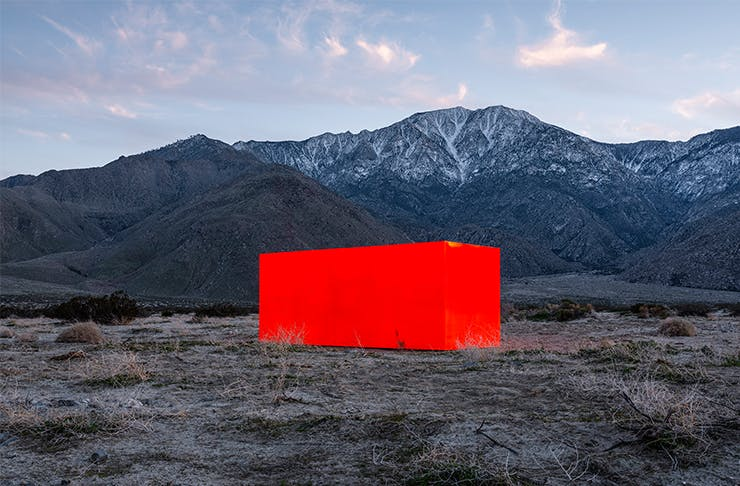 A Stunning Art Exhibition Has Popped Up In The Palm Springs Desert