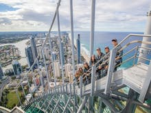 Australia's Only External Building Climb Is In QLD (& It's Bloody Stunning)!