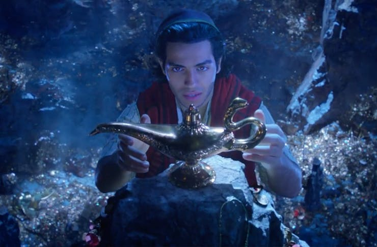 Here's Your First Look At Disney's Live-Action Aladdin