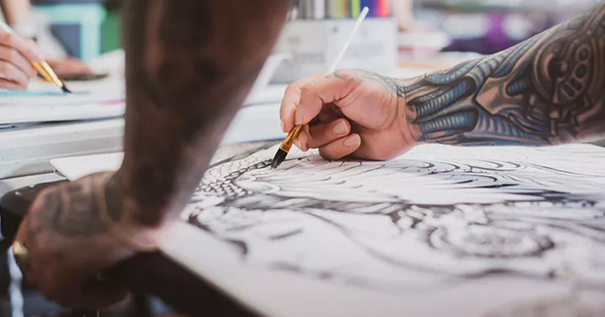 Don't assume you need to break the bank to learn how to draw