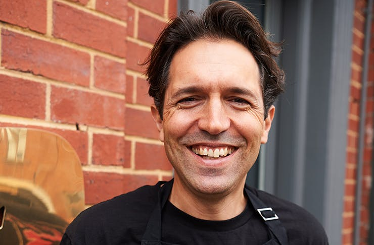 A photo of Attica owner/chef Ben Shewry smiling.