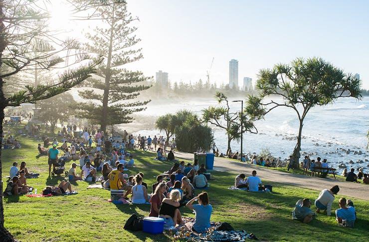 Australia Day events on the Gold Coast