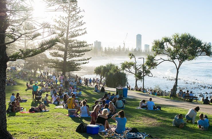 Australia Day events on the Gold Coast