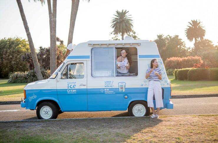 australia's first dairy free ice cream truck