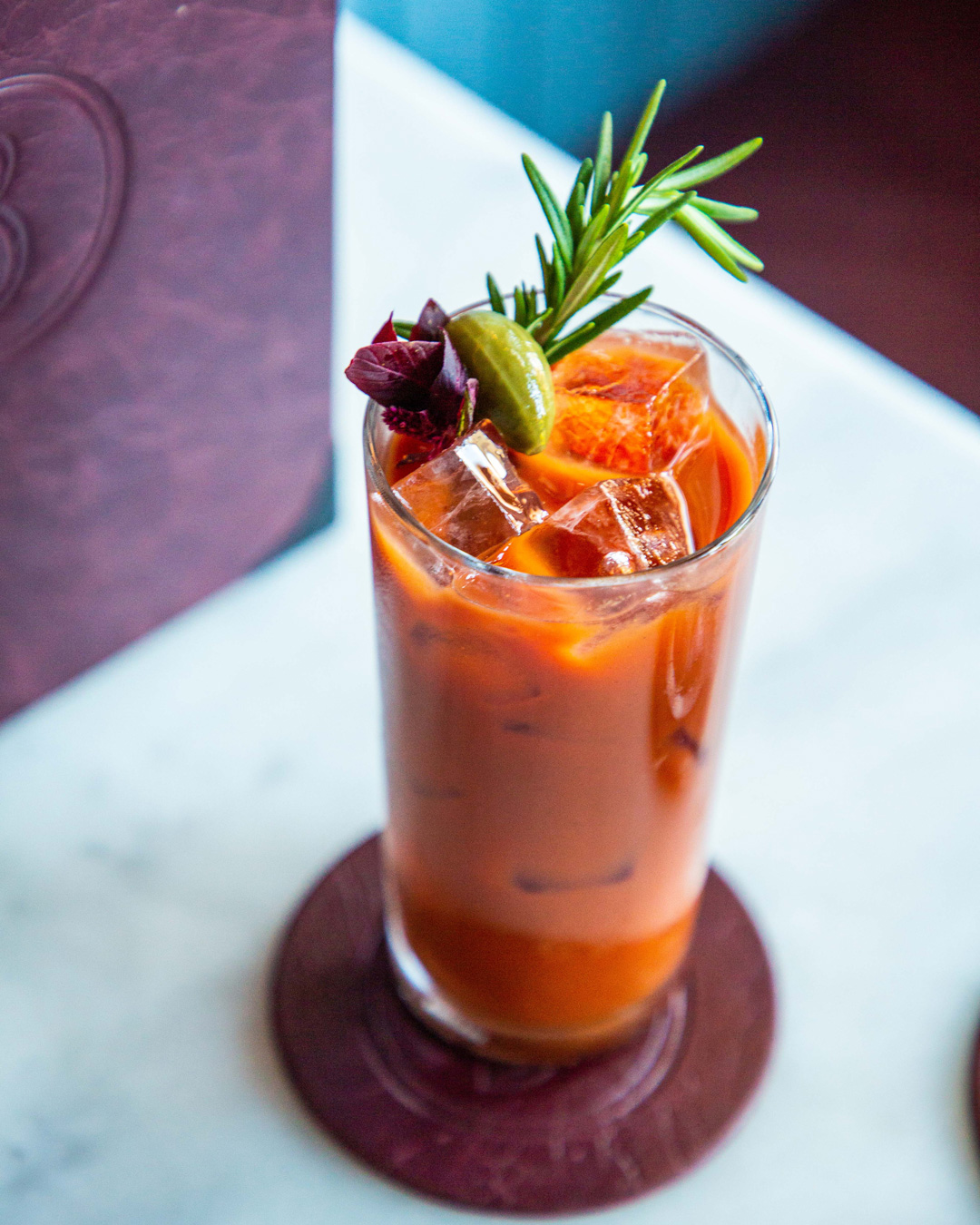 bloody mary from bartolo restaurant in sydney's surry hills