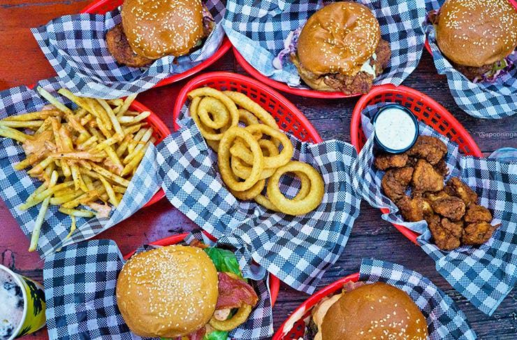 burgers by josh pop up