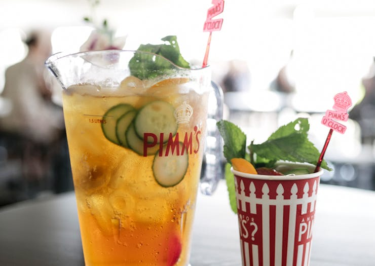Ladies Day Is Back, And There's A Pimms Courtyard!