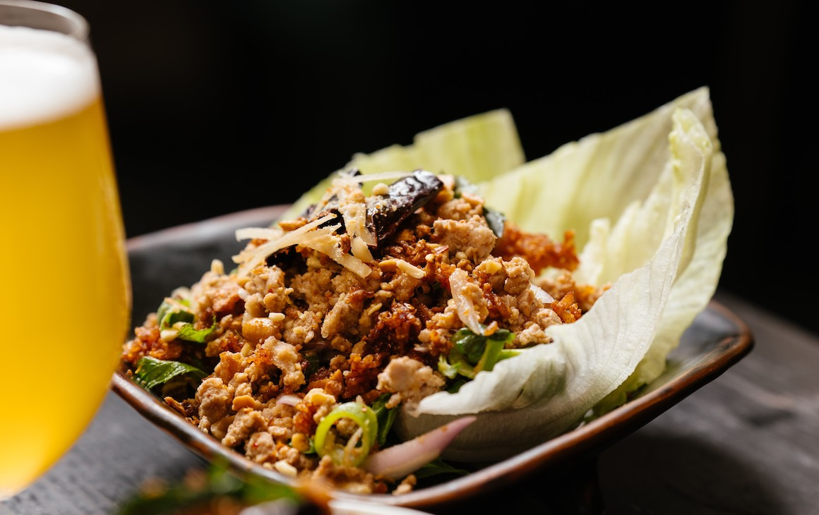 An image of one of the delicious Thai dishes served at Bangkok Junket at the State Makers Festival.