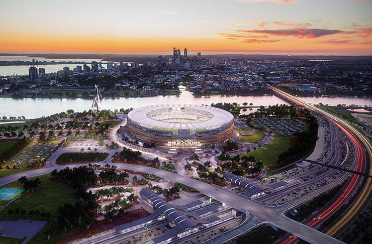 Here's How To Win Two Tickets To Every Event At Perth Stadium In 2018
