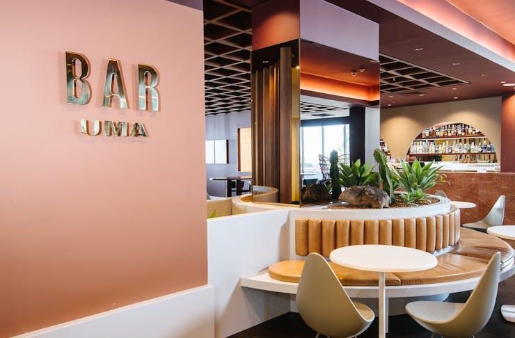 The entrance to Bar Uma