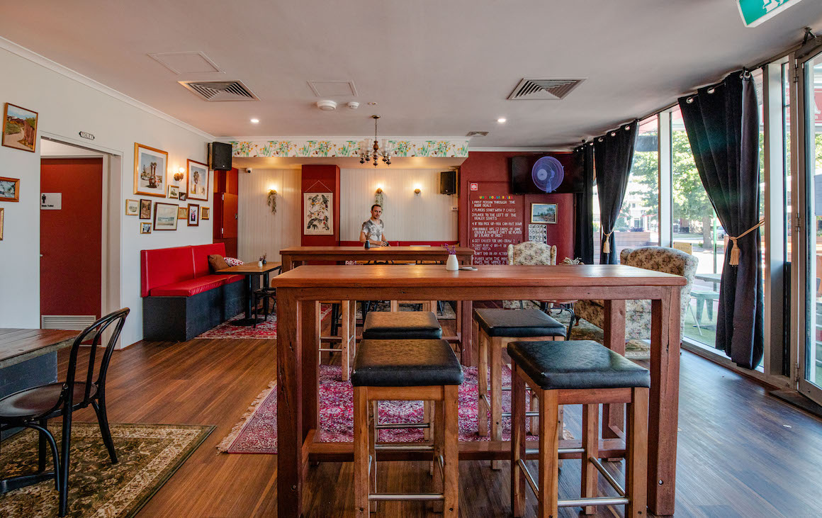 inside the newly revamped Bark in Subiaco