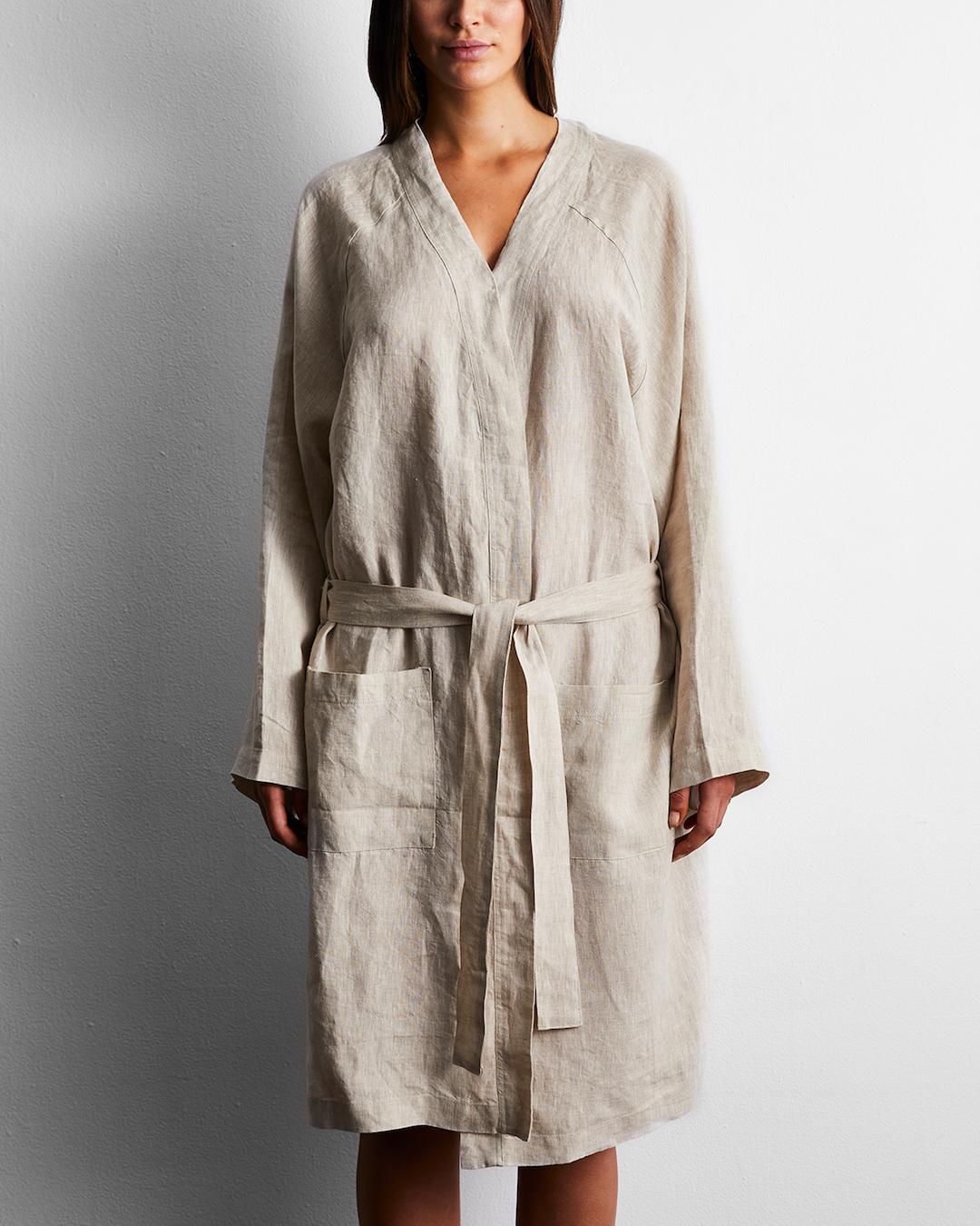 Linen bathrobe long linen robe kimono bath robe,white linen robe linen robe bath robe woman linen robe bath linen