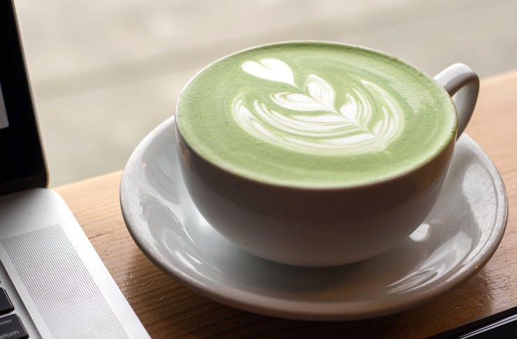 Matcha Latte in a mug