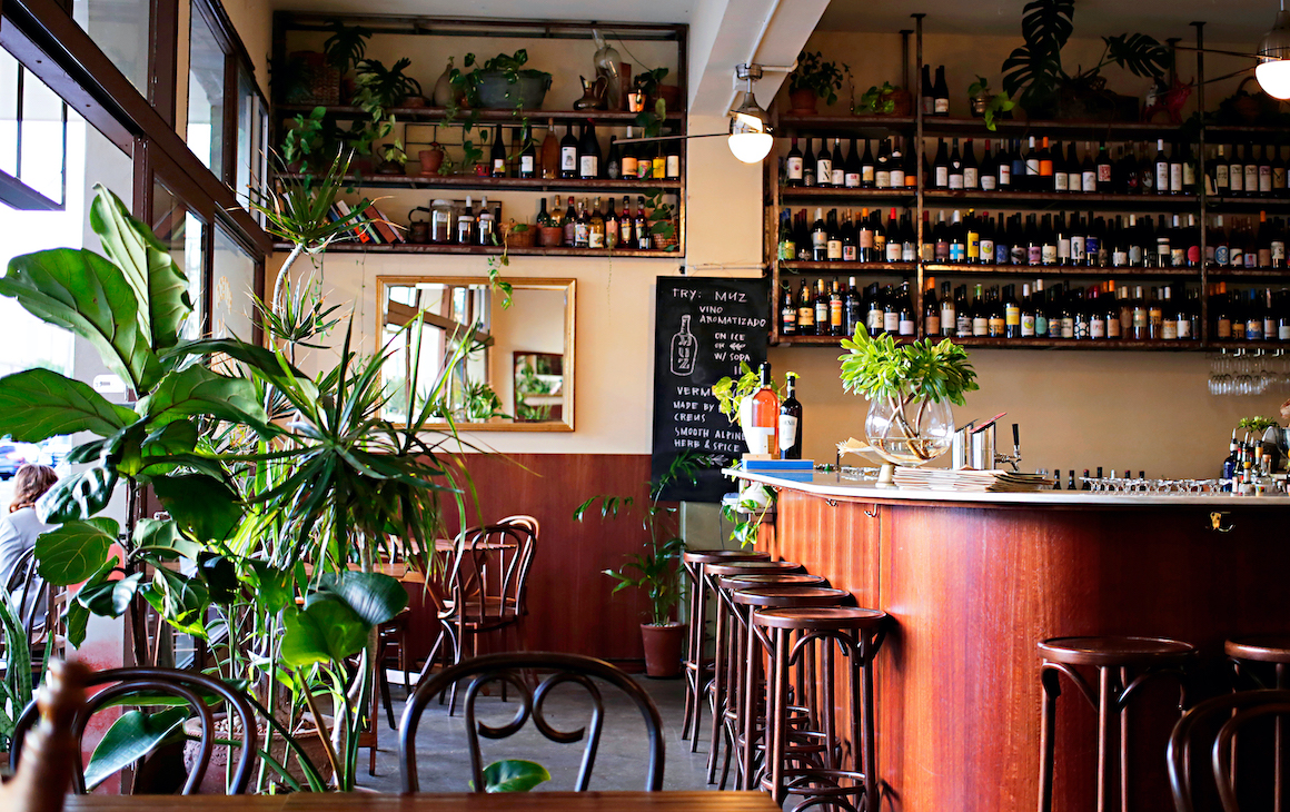 Interior at Madalenas in South Fremantle