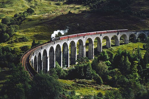 10 Of The Most Scenic Train Rides You'll Ever Take