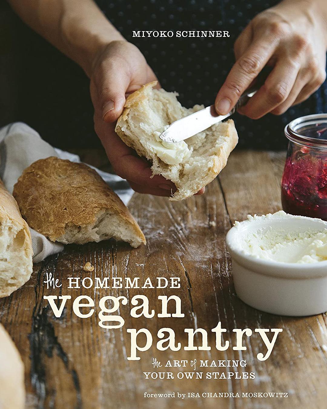 Homemade Vegan Pantry Cookbook Cover