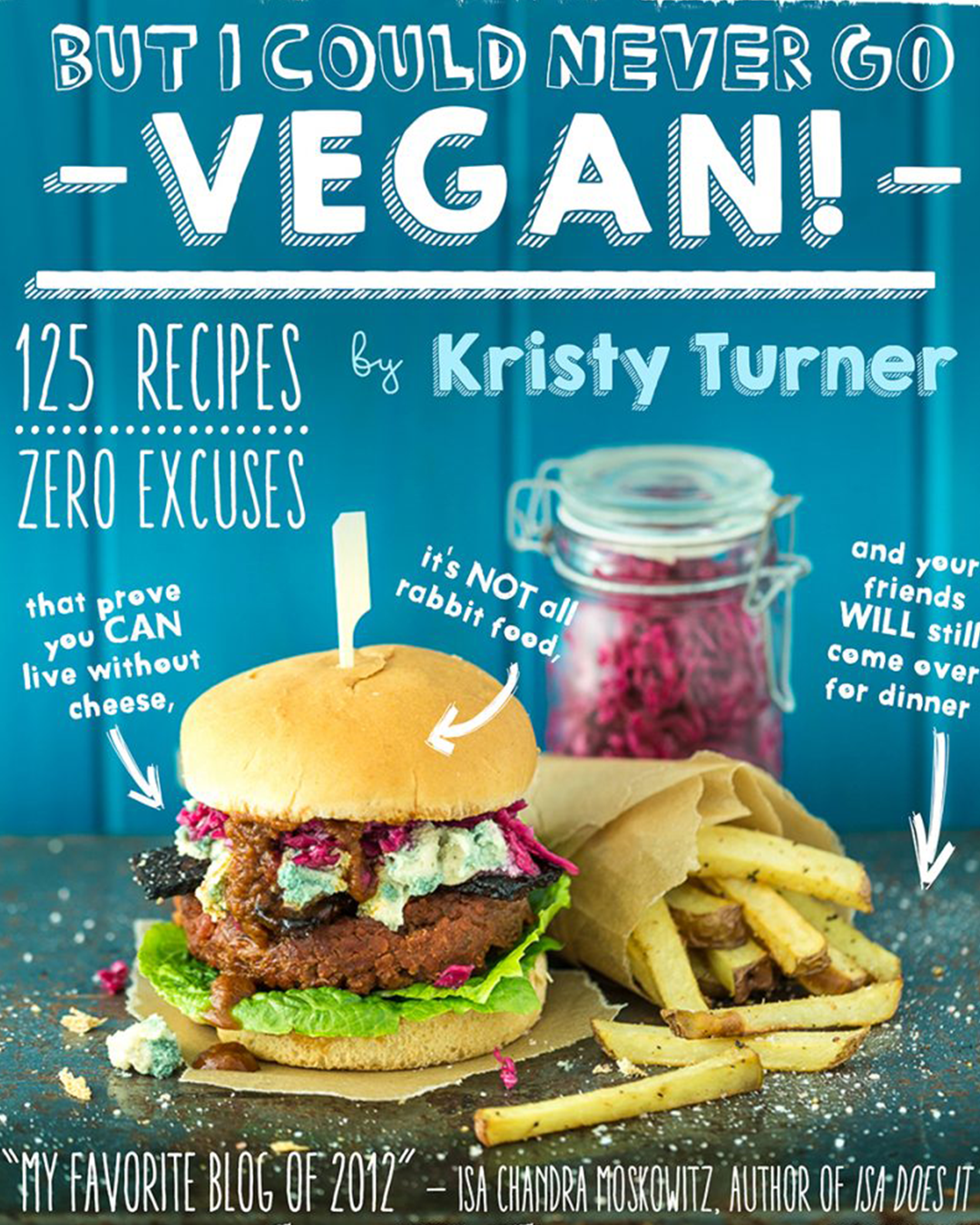 But I could Never Go Vegan Cookbook Cover