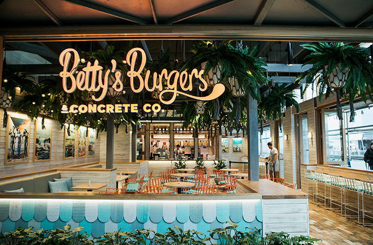 Betty's Burgers maroochydore