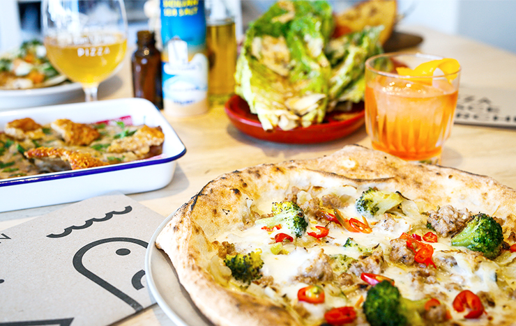 Canteen Pizza Turns One