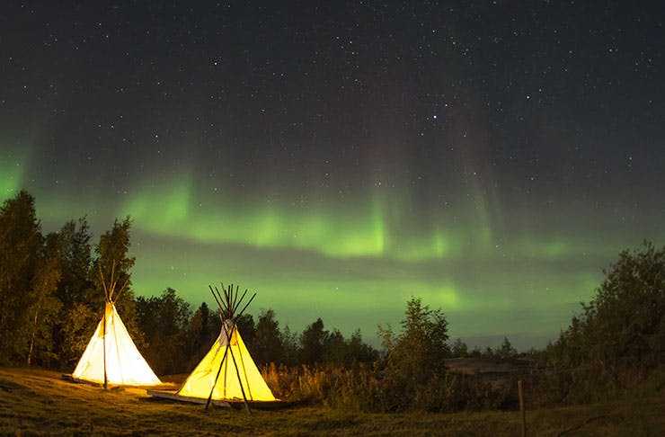 Celebrate This New Year's Eve Under The Northern Lights TWICE