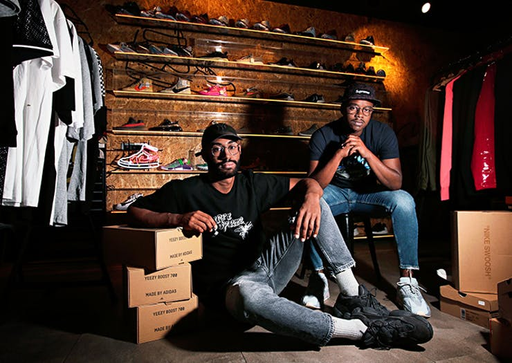 The Inside Scoop On Perth's Fried Chicken And Sneaker Consignment Shop