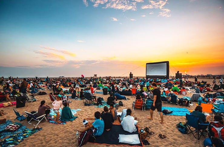 cinema_in_the_sand_mooloolaba