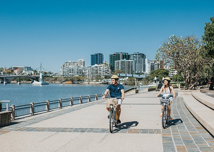 things to do brisbane, city cycle