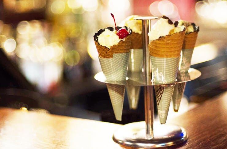 cocktails-in-cone-melbourne
