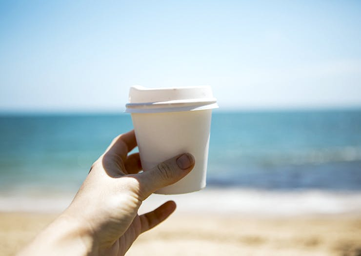 Collect A Bucket Of Rubbish And You'll Get A Free Coffee At This Caloundra Cafe