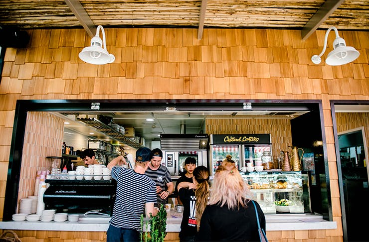 Custard Canteen Cafe Tallebudgera Creek
