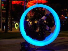 Glowing Swings Are Popping Up At Kings Square This Weekend And It's Going To Be Lit