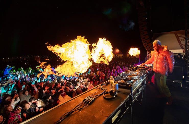 DJ Music Festival at Snow Machine