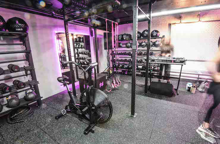 Nightclub gym