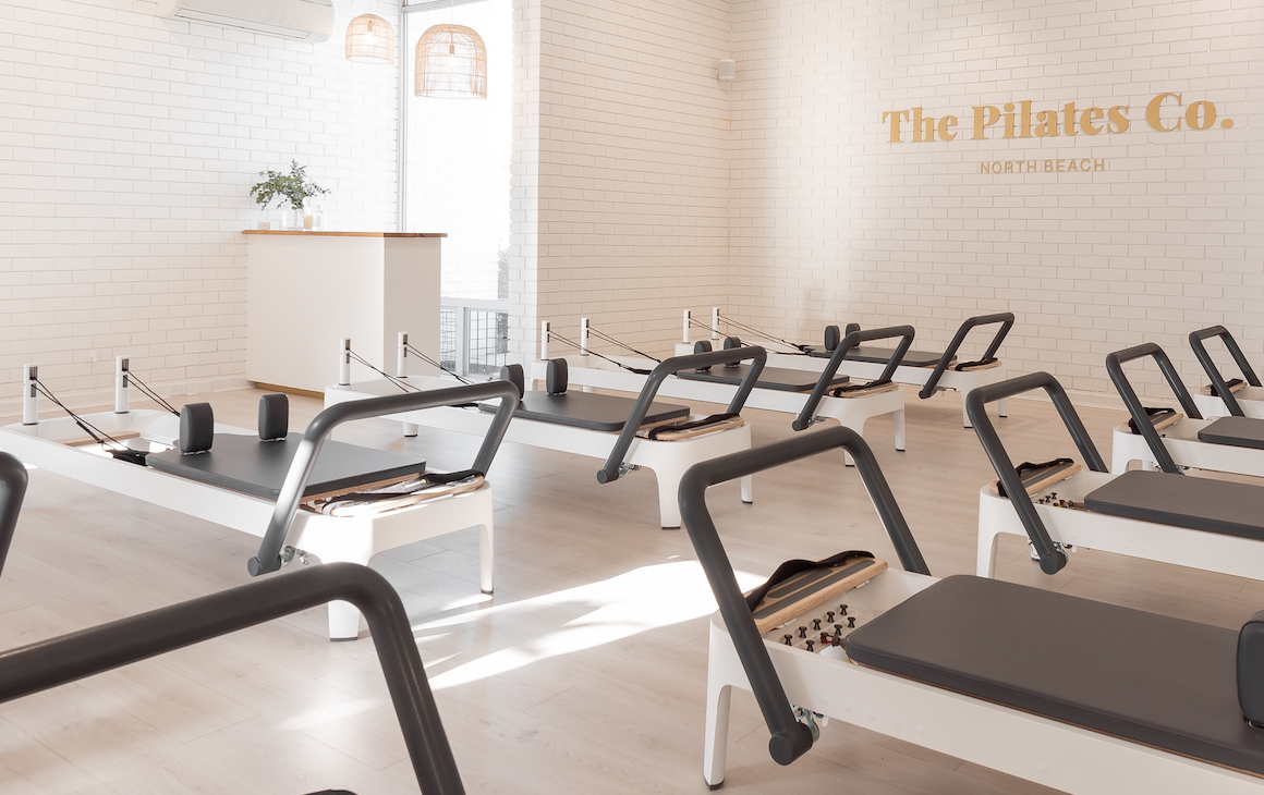 Inside The Pilates Co in North Beach.