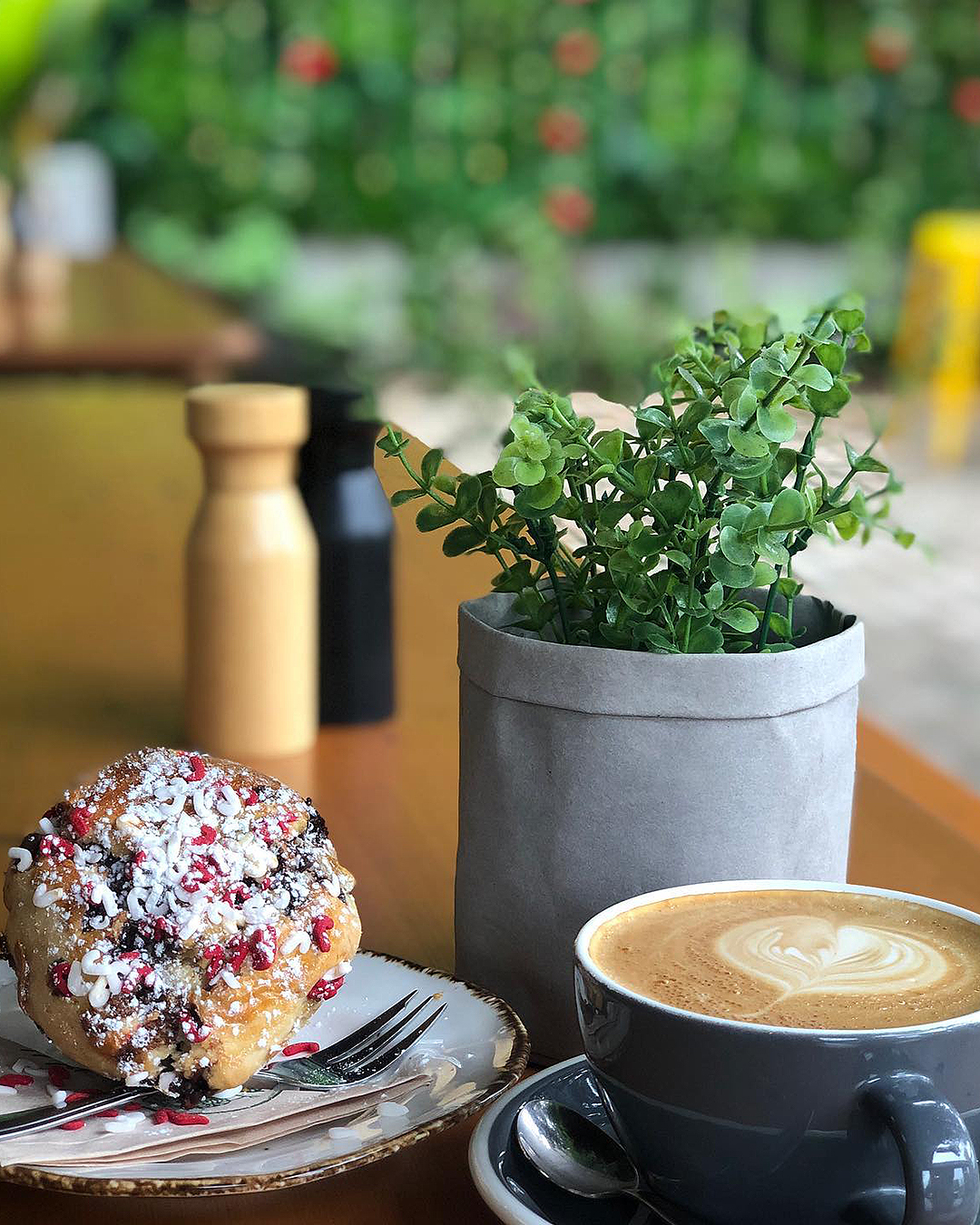 Delightful food and coffee at Cafe Oro