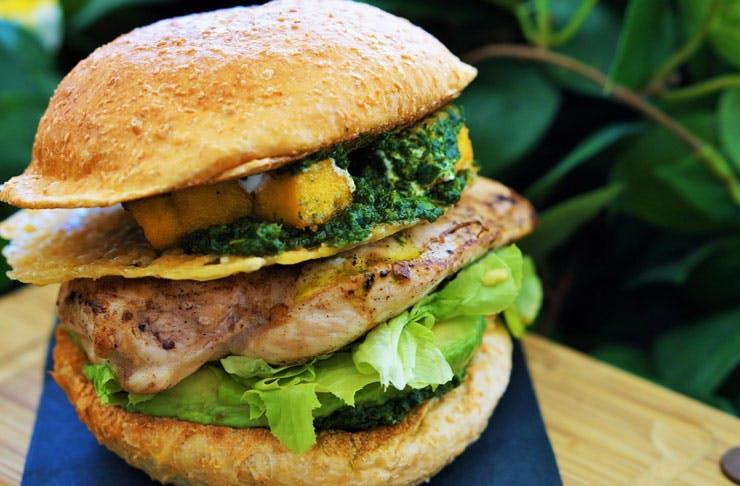 Free burgers melbourne Deliveroo