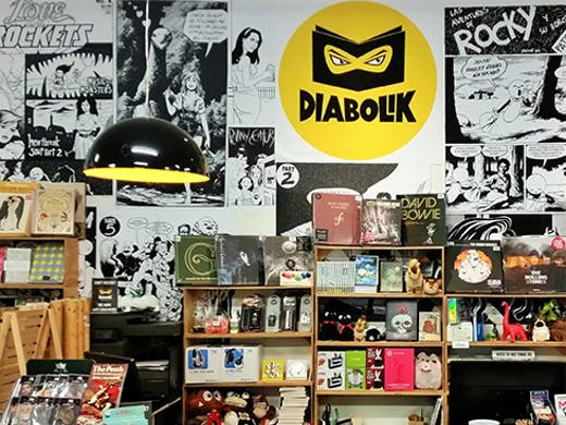 Diabolik Books & Records, Mount Hawthorn, Perth Bookstore, Perth Bookshop, Books, Book Shop